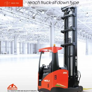 xe nâng reach truck HELI