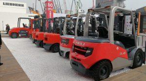 Bán xe nâng dầu diesel chính hãng